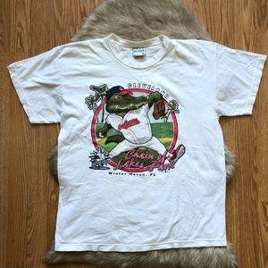 90s Cleveland Indians Spring Training T-shirt Sz L